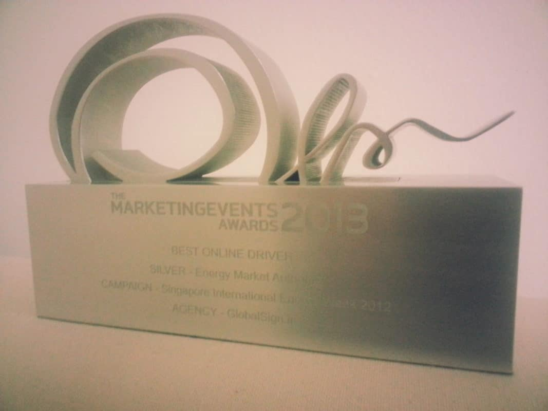 Silver Award for Best Online Driver.