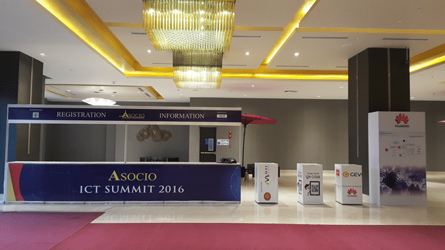 The long counter with the Asocio ICT summit 2016