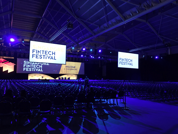 Fintech festival Our products and services offered to more than 12,000 delegates
