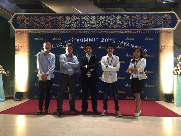 Our passionate and driven event planning and management team in Myanmar